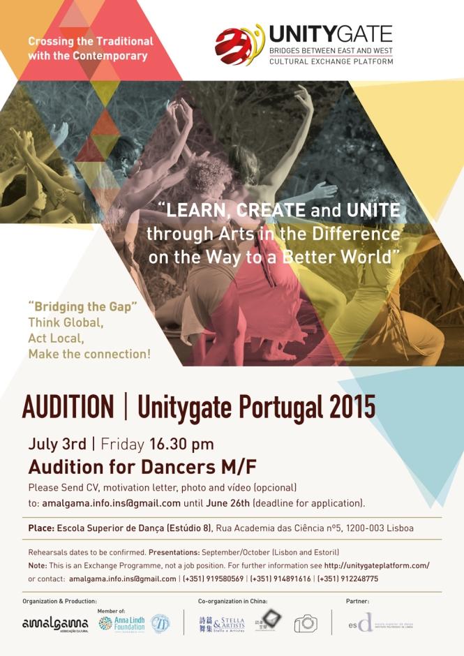 Audition_Unitygate'15_Portugal_cartaz